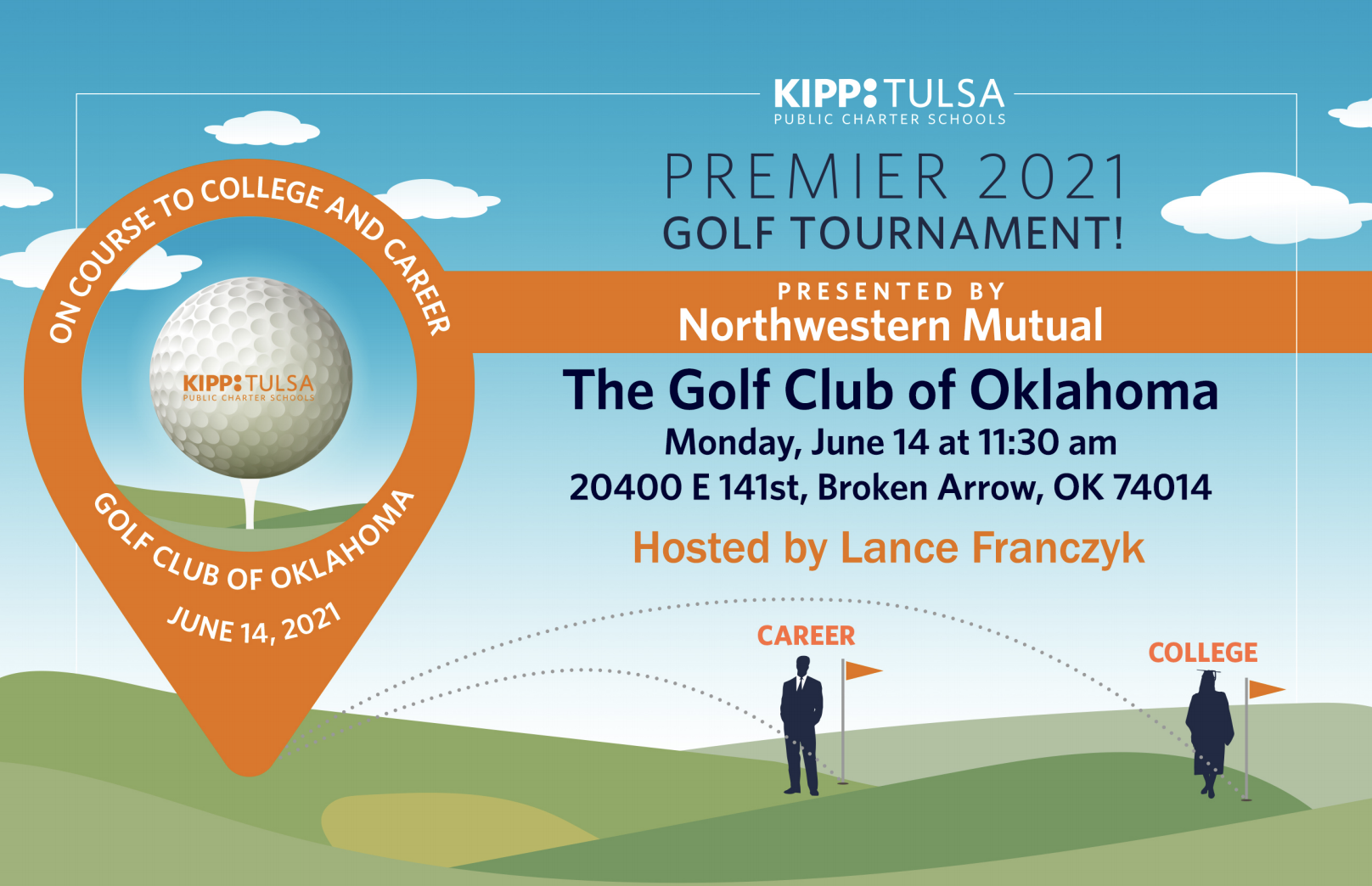 Join us for Golf Tournament